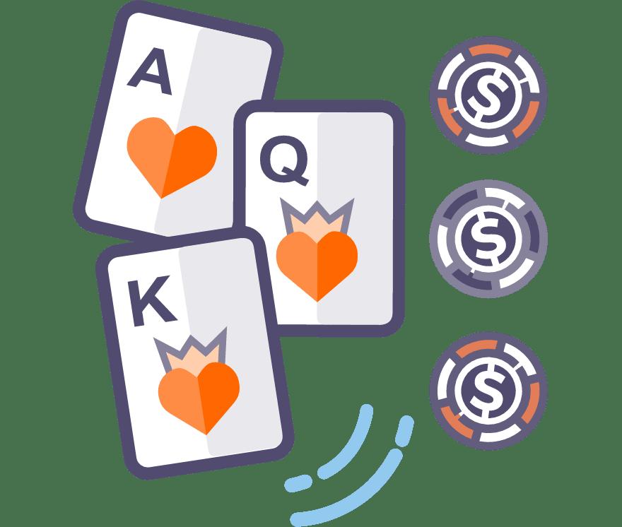 Los 53 mejores sitios de Casino de Póker de tres cartas en línea en Argentina